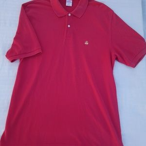 Brooks Brothers Shirts - BROOKS BROTHER LARGE Polo men's red